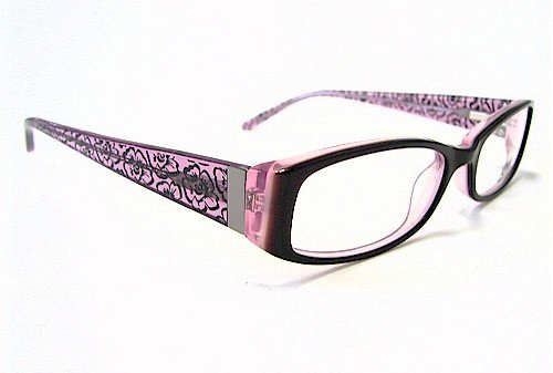 dc5d3a8f99f Candie s Eyes C Rosana Eyeglasses Brn pk Brown On Pink