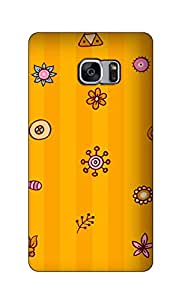 SWAG my CASE Printed Back Cover for Samsung Galaxy S7 Edge