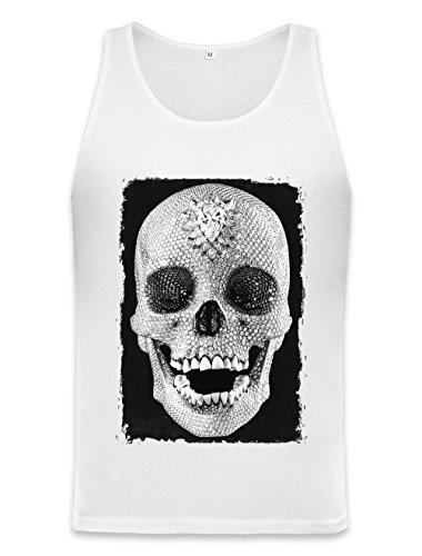 Drug Cocaine Fashion Designer Skull Unisex Tank Top Medium