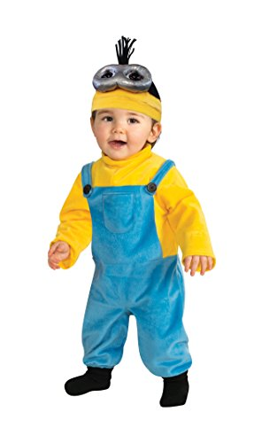 Rubie's Costume Co Baby Boys' Minion Kevin Romper Costume