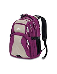 High Sierra Backpack Boysenberry 19x13x7 75 Inch