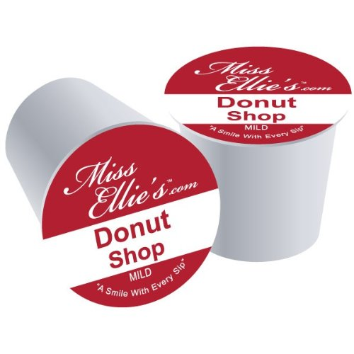 Miss Ellie'S Coffee Capsules, Donut Shop Package Compatible With Keurig K-Cup Brewers, 24 Count