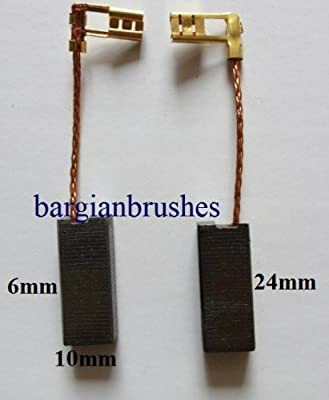 Carbon Brushes for Flymo Compact 330 lawnmower vision HC330 D94