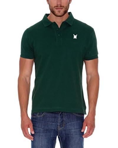 POLO CLUB Poloshirt Custom Fit grün