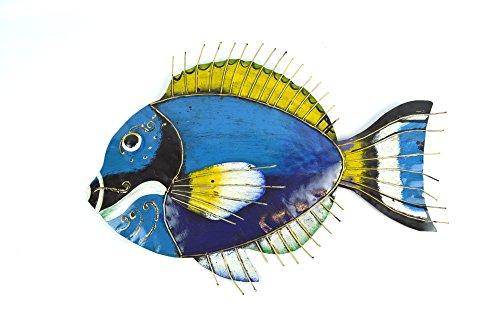 school fish metal wall art