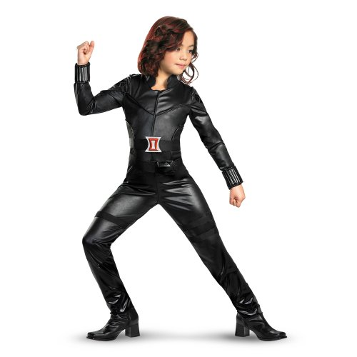 The Avengers Deluxe Black Widow Child Halloween Costume Size:Small 4-6x