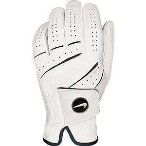 Nike Men's Tour Classic Regular Magnetic Ball Marker White Golf Glove, Left Hand, Small