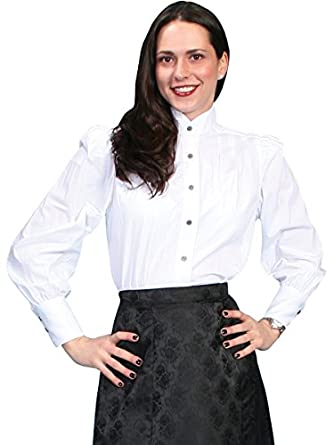 Wahmaker By Scully Womens Victorian Blouse  AT vintagedancer.com