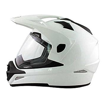 Casque Moto Quad Intégral Darryl Blanc Taille L
