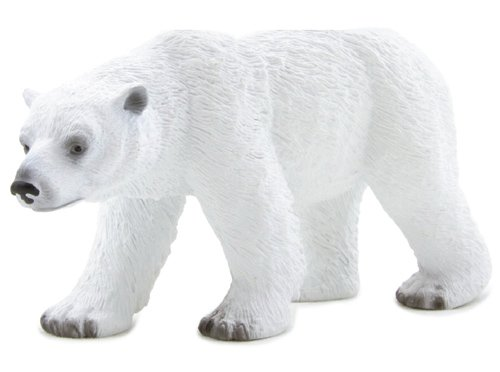 1 X Mojo Fun 387019 Polar Bear - Realistic International Wildlife Toy Replica