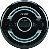 GPX PC308B Portable CD Player with Stereo Earbuds, Anti-Skip Protection and Bass Boost