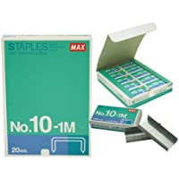 MAX STAPLES No. 10 - 1M (Pack of 20)