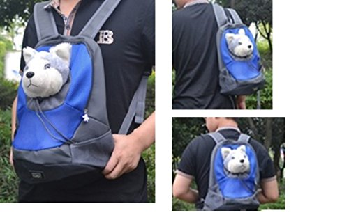 REIENE Exclusive! Hands-Free 3-Way Dog Carrier Pet Carrier Backpack Kangaroo Pouch Dog/Cat Travel Carrier Hiking Carrier Super Easy to Carry Your Best Friend Everywhere! Buy Any 2 Items and GET FREE REIENE Exclusive GIFT Limited Time Offer!