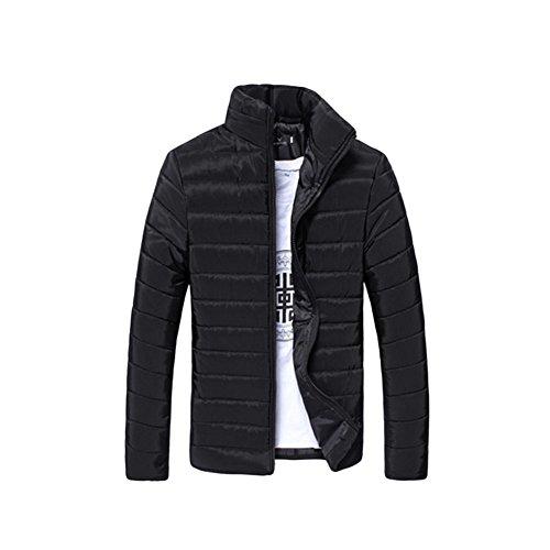 Zhuhaixmy Uomo Stand collare Sottile Cotone Jacket Gli sport Jacket Coat Outwear