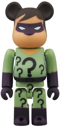 Medicom San Diego Comic-Con 2013 DC Super Powers Riddler Bearbrick Action Figure - 1