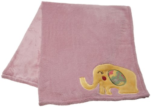 CoCo & Company Appliqued Boa Blanket, Alphabet Sweeties (Discontinued by Manufacturer)
