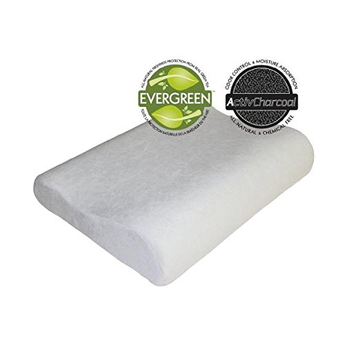 Sleep Master Memory Foam Traditional Pillows : Sleep Master 2-Pack Contour Memory Foam Pillows Home Garden Linens Bedding Bedding