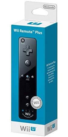Wii U - Remote Plus, schwarz