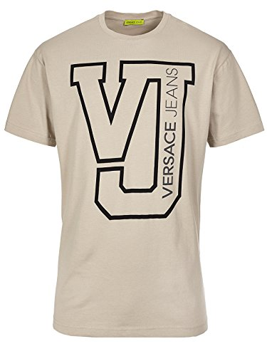 Versace Jeans Couture T-Shirt (M-03-Ts-34131) - 52(DE) / 52(IT) / 52(EU) - beige