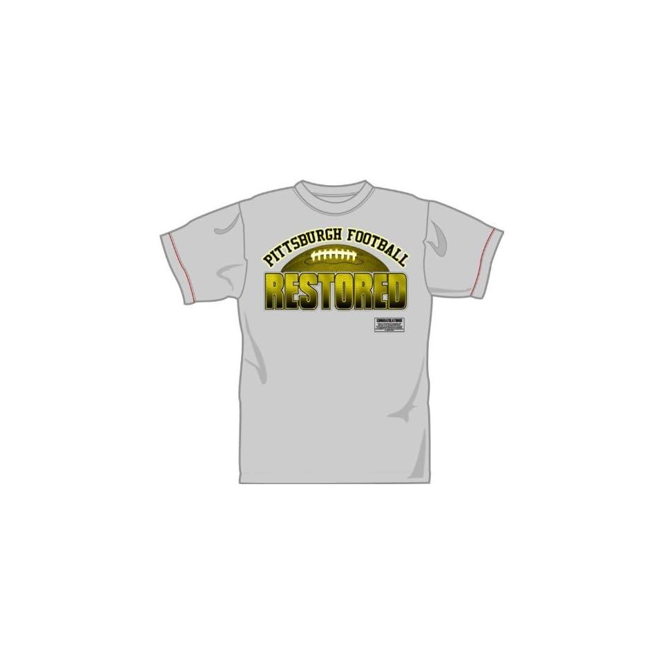 ec2729b77 Nike Mens Long Sleeve Pittsburgh Steelers Reflective T Shirt ...