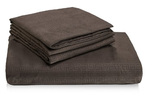 Hotel Comfort 2000 Duvet Cover Set-Full/Queen (Chocolate Brown) front-15001