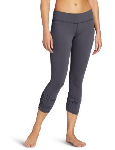 Beyond Yoga Women'S Gathered Leggings, Steel, Medium