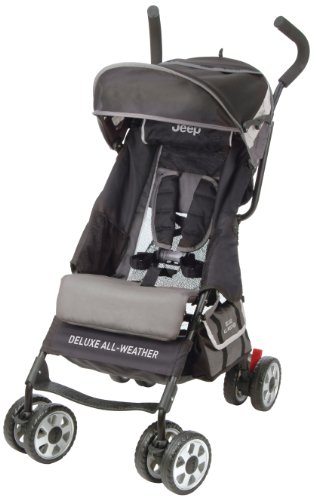 Jeep Deluxe All-Weather Umbrella Stroller, Carbon