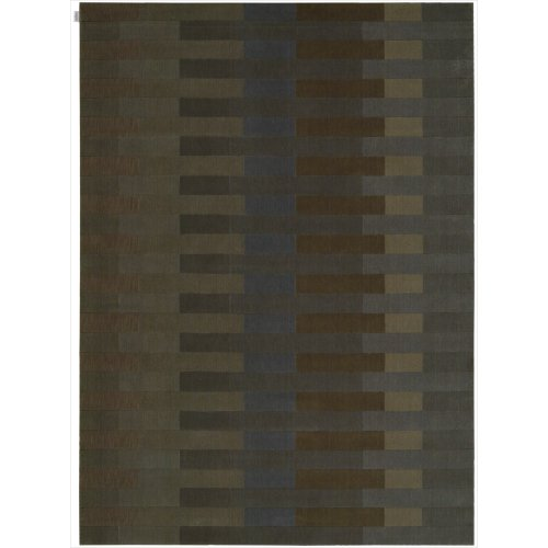 Calvin Klein Home Loom Select LS06 Rectangle Rug, 2-Feet by 2.9-Feet, Slate