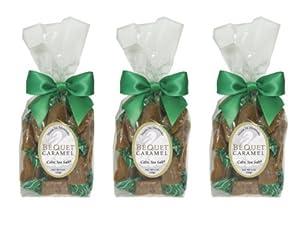 Bequet Gourmet Celtic Sea Salt Caramel - 8oz bag (3pack)
