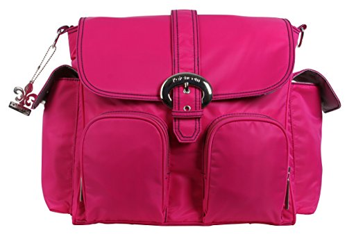 kalencom-nylon-double-duty-diaper-bag-fuchsia