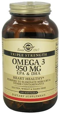 Solgar - Triple Strength Omega 3 EPA & DHA 950 mg.
