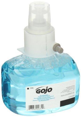 GOJO 1316-03 Pomeberry Foam Handwash Pleasant Pomegranate Fragrance 700mL Refill Blue (Pack of 3)