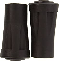 SE - Tips For Walking Sticks - Rubber Reinforced, 2 Pc - WS-2XTIP