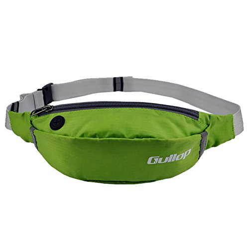 Ezyoutdoor Waist Bag Outdoor Sports Waist Bags Fanny Pack Mobile Packet for Running Travel Backpacking Bivouac Hiking Picnic green (Vagabond Battery compare prices)