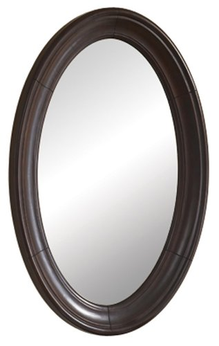 Kaco international 893-2224 Mount Vernon Small Mirror with an Attractive Merlot Sherwin Williams Finish