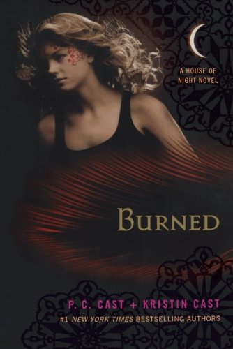 Cover of Burned: A House of Night Novel