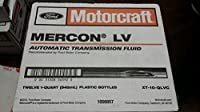 Motorcraft MERCON LV Automatic Transmission Fluid (ATF) **12 Quart Case** from Motorcraft (Ford)