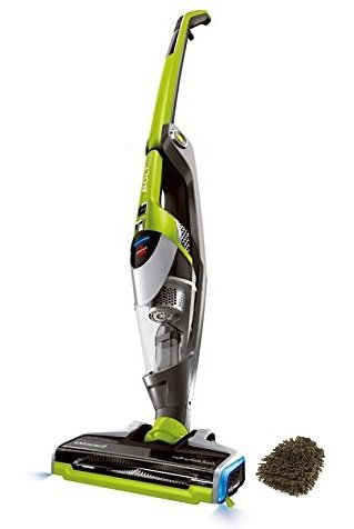 Bissell Bolt Ion Plus 2-in-1 Lightweight Cordless Vacuum, Edgereach Technology, 18v, 13121 (Complete Set) w/ Bonus: Premium Microfiber Cleaner Bundle (Bissell Stick Vacuum Green compare prices)