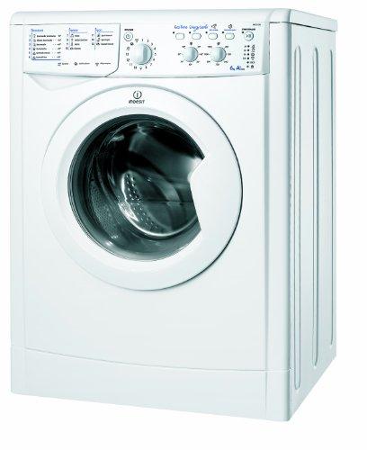Indesit IWC 61281 ECO (DE) Frontlader Waschmaschine / A+ AB / 178 kWh/Jahr /1200 UpM / 6 kg / 8593 L/Jahr / ENERGY SAVER Funktion / Expressprogramm 15 min / weiß