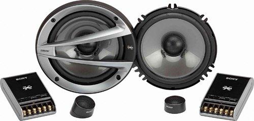 """Sony Xs-Gtx1621S Xplod Gtx Series 6.5"""" 2-Way Component Speakers"""