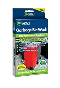 Snow Joe Biowish 100069 Garbage Bin Wash at Sears.com