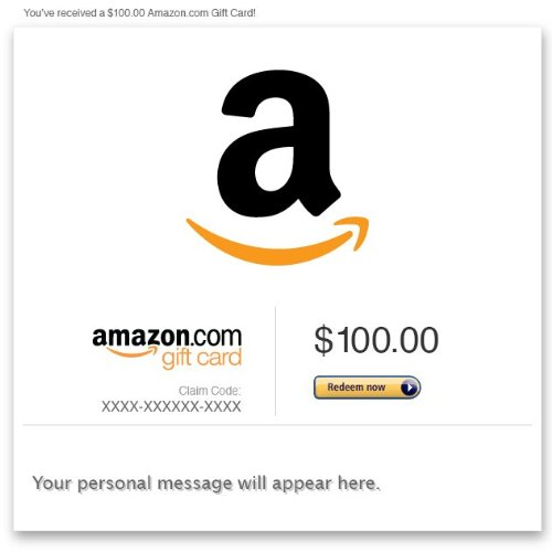 Amazon Gift Card  Email Picture