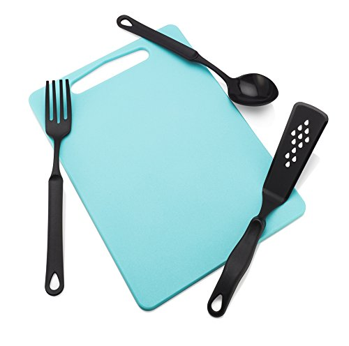 Francois Et Mimi Set Of Food Safe Cutting Mat Board With