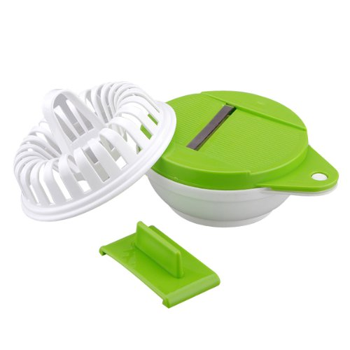 Microwave Potato Apple Vegetable Chip Crisp Slicer Maker Healthy Cooker Bake Mold Diy