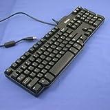 DELL 純正  SK-8115 メンブレン式キーボード 109キー USB 日本語対応 排水機構搭載 (ブラック)