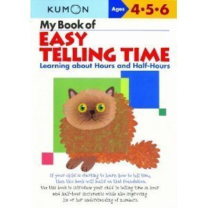 My Book of Easy Telling Time: Hours & Half-Hours - 1