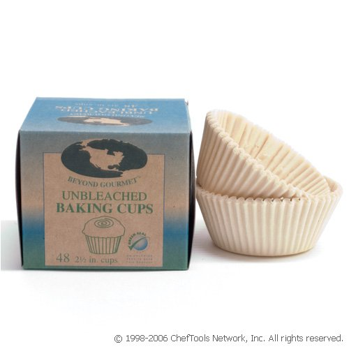Beyond Gourmet Unbleached Baking Cups - Buy Beyond Gourmet Unbleached Baking Cups - Purchase Beyond Gourmet Unbleached Baking Cups (Harold Import Company, Inc., Home & Garden, Categories, Kitchen & Dining, Cookware & Baking, Baking, Muffin & Popover Pans)