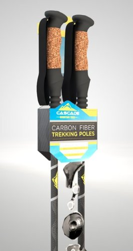 Cascade Mountain Tech Carbon Fiber Trekking Poles
