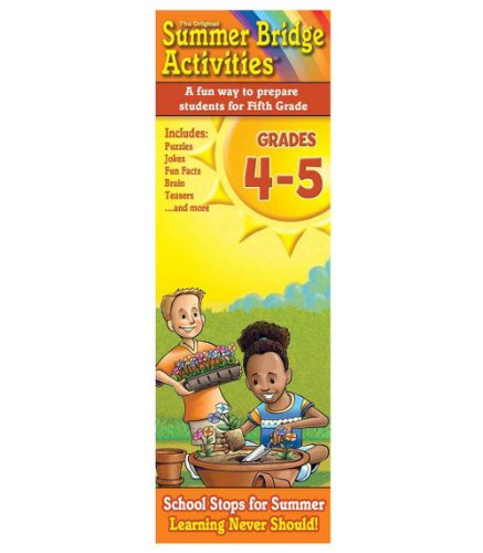 Summer Bridge Activity Cards, Grades 4 - 5 - 1
