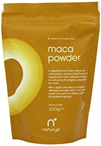 Naturya Organic Maca 300 g Nutritional Power Food Pouch